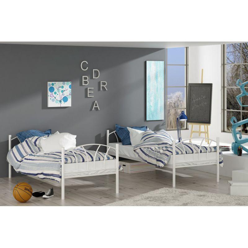 Łóżko tapicerowane ROXI z materacem