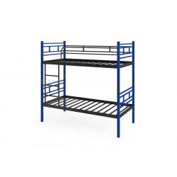 MARTI metalowe łóżko piętrowe RÓŻOWE