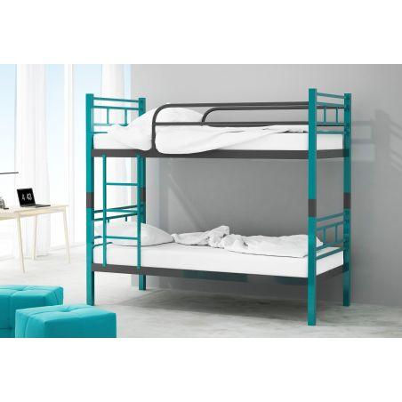 Łóżko piętrowe MADERA z blatem