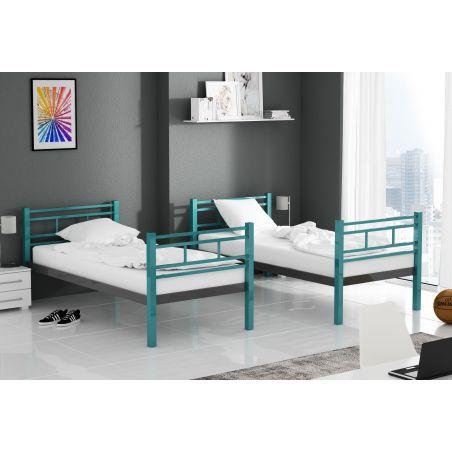 Łóżko piętrowe OLIWIA sosnowe
