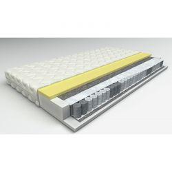 AGNES stabilne łóżko piętrowe metalowe NIEBIESKIE